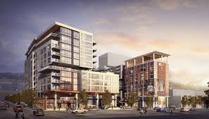 developers preparing for planning commission for large downtown