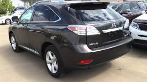 lexus 2010 2010 grey lexus rx 350 awd premium package indepth review st