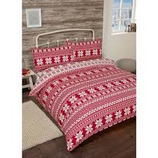 Brushed Cotton Duvet Cover Double Nordic Brushed Cotton Duvet Set Double Bedding B U0026m