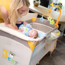 baby center travel cot bear design
