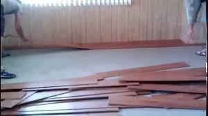 Laminate Flooring Gilbert Az Laminate Flooring Improper Installation Glendale Az 2 Youtube
