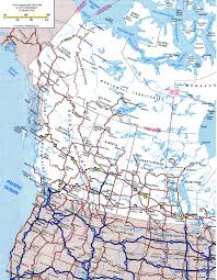 map us canada map of western canada and usa major tourist attractions