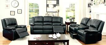 Leather Reclining Living Room Sets Leather Reclining Living Room Sets Kleer Flo