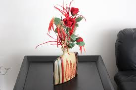 Flower Arrangements Home Decor by Hand Crafted Silk Flower Arrangement Unique Home Decor Table