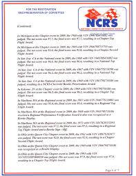 national corvette restorers society corvette industry award winners