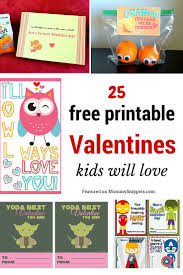 valentines for kids 25 free printable valentines kids will snippets