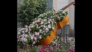deco jardin a faire soi meme idées originales recyclées pour décorer votre jardin youtube