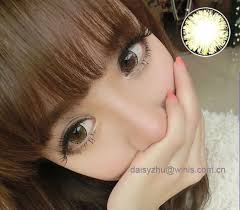 eos ice ii beautiful cosmetic cheap korea color contact lenses
