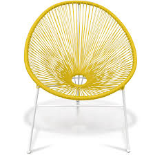 Yellow Patio Chairs by Rattan Indoor Outdoor Chair Yellow Specialist Furniture Contracts
