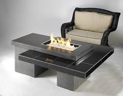outdoor greatroom fire table outdoor greatroom linear uptown fire pit table black granite upt