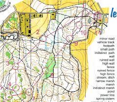 England On Map Curragh Naas Orienteering Club September 2010