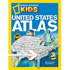 United States Atlas Map Online by National Geographic Kids United States Atlas National Geographic