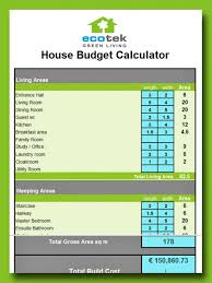 apartments how to build a house on a budget calculate your eco
