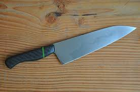 high carbon kitchen knives carbon fibre high carbon steel chefs knife with hamon crafted