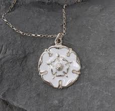 white rose necklace images White rose necklace 27mm yorkshire stuff jpg