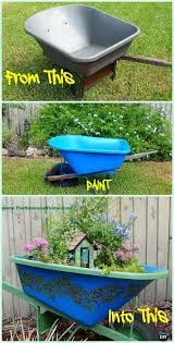 diy wheelbarrow garden projects u0026 instructions