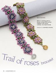 beaded rose bracelet images 211 best beading flowers images beaded flowers jpg
