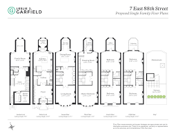 100 new york townhouse floor plans 314 east 69th street new