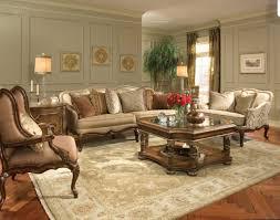 furniture living room design with homelegance sofa set and area