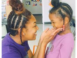 hairstyles for giving birth see how an amazing teacher made her student s day by wearing a