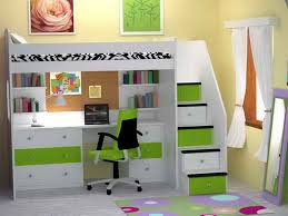 Bunk Bed Desk Underneath Impressive Best 25 Bunk Bed With Desk Ideas On Pinterest