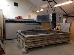 machine for sale flow waterjet cutting machine ifb 3018 laser