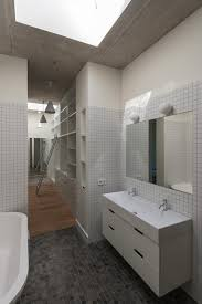Master Bathroom Ideas Houzz Nakano Fireproof Wooden House By Masashi Ogihara Japan Small