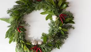 herb wreath how to make a herb wreath