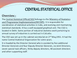 central statistical bureau indian official statistical system