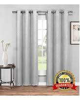 Light Grey Blackout Curtains Holiday Special Evelyn Embossed Thermal Weaved Blackout Curtain