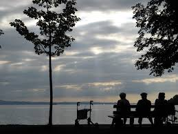 Strandbad Bad Schachen Anlegestelle Bad Schachen Im Februar Mapio Net