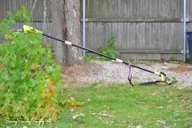 learn about the ryobi pole saw before you buy savvysavingcouple