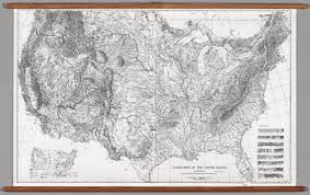 Physiographic Map Of The United States by United States Physical Landforms Raisz David Rumsey