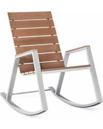 Patio Rocking Chair Deal Alert Patio Rocking Chair Bryant Faux Wood Patio Rocker