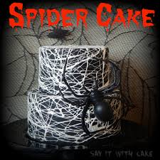 spider web cake to be yummy food and coming soon