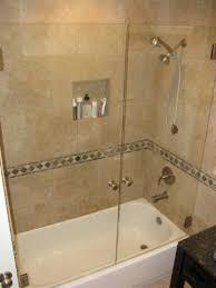 Trackless Bathtub Doors Bathtub W Door Bathroom Design