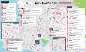 Oakland Map Venue Map Oakland Art Murmur
