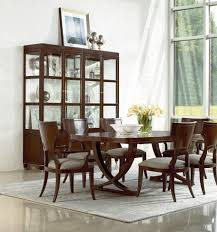 thomasville dining room sets double pedestal dining table from the art deco inspired