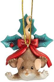 mouse with jingle bell figurine jingle bells mice and