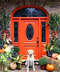 front door decor thanksgiving wreath ideas