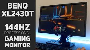 black friday 144hz monitor benq xl2430t review the best 144hz monitor on a budget youtube