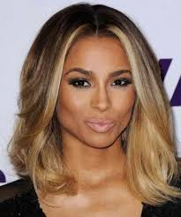 honey brown hair with blonde ombre ciara ombre honey blonde color medium bob virgin hair lace wigs