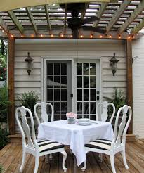 Globe Lights Patio by Cottage And Vine Globe String Lights On The Deck