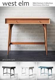 west elm mid century mini desk 3d models table mid century mini desk