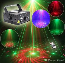 Christmas Laser Light Show Suny Rg 3 Lens 40 Patterns Mini Laser Projector Stage Light Blue