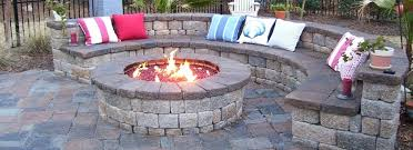 How To Build A Gas Firepit Build Your Own Gas Pit Building Gas Pit On Wood Deck