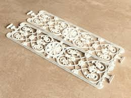 model ornamental grille vegetable