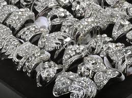 jewelry rings wholesale images 2018 wholesale clear crystal royal bridal engagement rings jewelry jpg