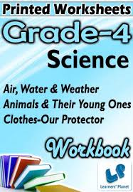 grade 4 science air water animal clothes wb printed book