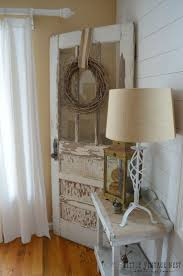 Decorate Bedroom Vintage Style Best 25 Old Door Decor Ideas On Pinterest Door Picture Frame